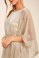 Ladies' Night Gold Kaftan Dress 5
