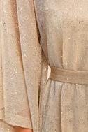Ladies' Night Gold Kaftan Dress 6