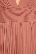 Depths of My Love Rusty Rose Maxi Dress 6