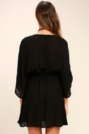 Belize in Magic Black Embroidered Dress 5