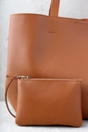 Timeless Beauty Brown Tote 4