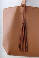 Timeless Beauty Brown Tote 5