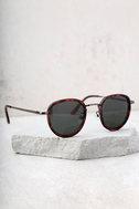 Bupkis Matte Tortoise Sunglasses 4