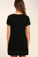 Perfect Time Black Shift Dress 4