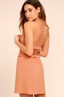 Tavik Rose Blush Pink Halter Dress 3