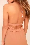 Tavik Rose Blush Pink Halter Dress 5
