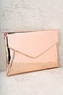 New Image Rose Gold Clutch 1