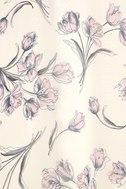 Adventure Seeker Cream Floral Print Maxi Dress 6