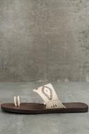 Blowfish Domaine Off-White Flat Sandals 2