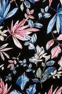 Loving Ways Black Floral Print Maxi Dress 6