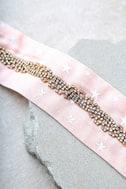 Ettika Stargazer Pink Rhinestone Choker Necklace 3