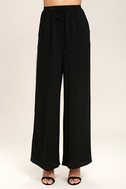 Tavik Purcell Black Wide-Leg Pants 2