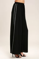 Tavik Purcell Black Wide-Leg Pants 3