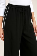 Tavik Purcell Black Wide-Leg Pants 5