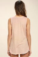 Project Social T Easy Rider Blush Pink Tank Top 4