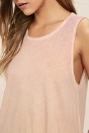 Project Social T Easy Rider Blush Pink Tank Top 5