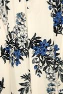 Perfect Memory White Floral Print Maxi Dress 6