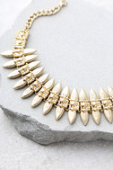 Captivated Gold Choker Necklace 2