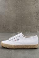 Superga 2750 COTROPEU White Espadrille Sneakers 1