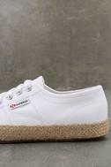 Superga 2750 COTROPEU White Espadrille Sneakers 7