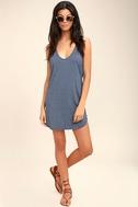 Thrilled to Bits Denim Blue Dress 2