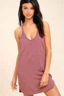 Thrilled to Bits Mauve Dress 1