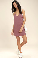 Thrilled to Bits Mauve Dress 2