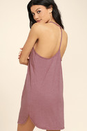Thrilled to Bits Mauve Dress 3