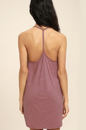 Thrilled to Bits Mauve Dress 4
