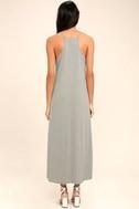PPLA Frida Light Grey Midi Dress 4
