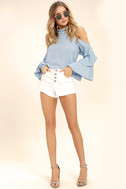 Flow With It Light Blue Top 2