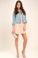 Top Pick Blush Slip Dress 2