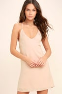 Top Pick Blush Slip Dress 3