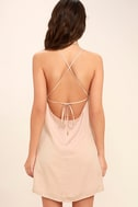 Top Pick Blush Slip Dress 4