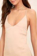 Top Pick Blush Slip Dress 5