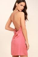Top Pick Rose Pink Slip Dress 1