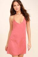 Top Pick Rose Pink Slip Dress 3
