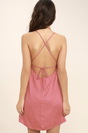Top Pick Rose Pink Slip Dress 4