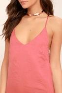 Top Pick Rose Pink Slip Dress 5
