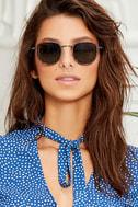 Bupkis Matte Tortoise Sunglasses 1