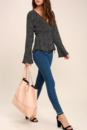 Conquer Blush Pink Tote 1