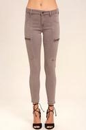 Self-Assured Washed Mauve Skinny Jeans 2