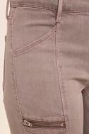 Self-Assured Washed Mauve Skinny Jeans 6