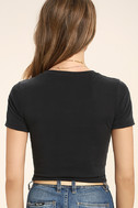 All-Access Pass Washed Black Crop Top 4
