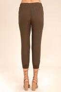 Widely-Popular Khaki Jogger Pants 4