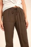 Widely-Popular Khaki Jogger Pants 5