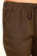 Widely-Popular Khaki Jogger Pants 6
