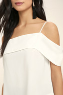 Play a Tune White Off-the-Shoulder Top 5