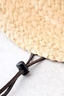 Wyeth Suzy Beige Straw Sun Hat 3