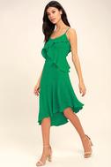 Adelyn Rae Desdemona Green Midi Dress 2